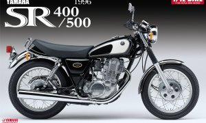 1:12 Scale Yamaha SR400/500 '96 Model Kit #368