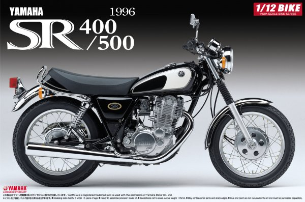 1:12 Scale Yamaha SR400/500 '96 Model Kit #368p