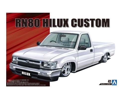 1:24 Scale Toyota Hilux Custom Low Rider RN80 Model Kit #165