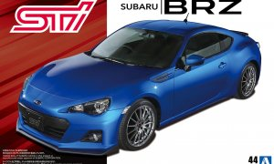 1:24 Scale Subaru BRZ STi ZC6 2012 Model Kit #168