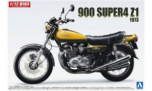1:12 Scale Kawasaki 900 Super Four Z1 With Custom Parts Model Kit #406p