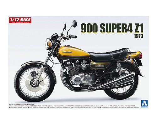 1:12 Scale Kawasaki 900 Super Four Z1 With Custom Parts Model Kit #406p