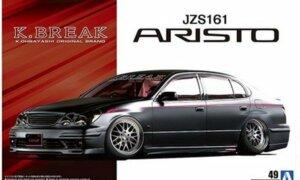 1:24 Scale Toyota Aristo JZS161 K-Break Platinum Model Kit #173