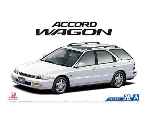 1:24 Scale Honda Accord Wagon SIR 94 CF2 #75p