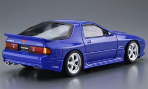 1:24 Scale Aoshima Mazda RX7 FC3S RE AMEMIYA Model Kit #182p