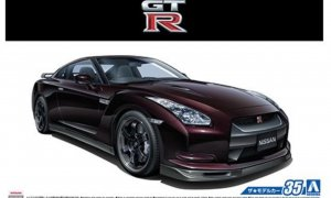 1:24 Scale Aoshima Nissan GTR R35 SPEC-V '09 Model Kit #35p
