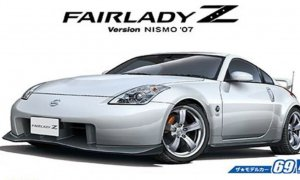 1:24 Scale Aoshima Nissan NISMO 350Z Fairlady Z Z33 Model Kit #68p