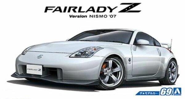 1:24 Scale Aoshima Nissan NISMO 350Z Fairlady Z Z33 Model Kit #68p