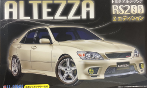 1:24 Scale Fujimi Toyota IS200 Altezza RS200 Z Model Kit - #564