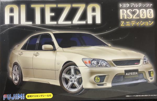 1:24 Scale Fujimi Toyota IS200 Altezza RS200 Z Model Kit - #564