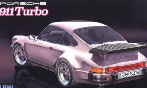 1:24 Scale Fujimi Porsche 911 Turbo Model Kit #817p