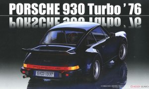 1:24 Scale Fujimi Porsche 930 Turbo '76 Model Kit #880p