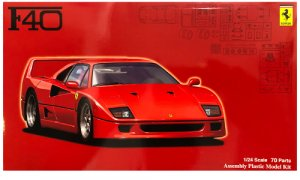 1:24 Scale Ferrari F40 Model Kit #