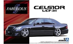 1:24 Scale Toyota Celsior Fabulous VIP UCF31 Model Kit #136p