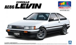 1:24 Scale Toyota Levin AE86 [pre painted] Model Kit #1038p