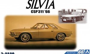 1:24 Scale Aoshima Nissan Silvia CSP311 1966 Model Kit #65p