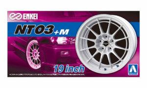 1:24 Scale Enkei NT03+M Wheels & Tyres Set #262