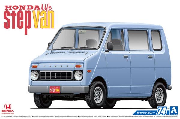 1:24 Scale Honda Life Step Van Model Kit #73