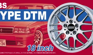 1:24 Scale BBS Type DTM Wheels & Tyre Set #206