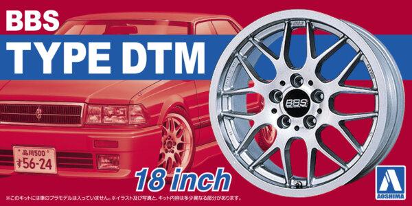 1:24 Scale BBS Type DTM Wheels & Tyre Set #206