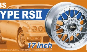 1:24 Scale BBS Type RS II Wheels & Tyres Set #205