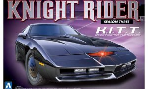 1:24 Scale Knight Rider 2000 K.I.T.T Season III Model Kit #435