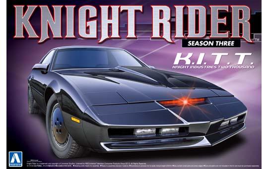 1:24 Scale Knight Rider 2000 K.I.T.T Season III Model Kit #435