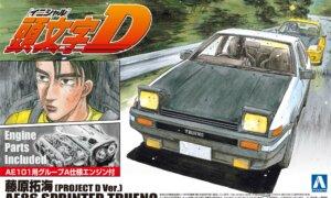 1:24 Scale Initial D Takumi Fujiwara Toyota Sprinter Trueno AE86 Project D Model Kit #414