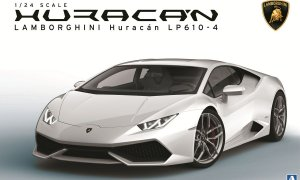 1:24 Scale Lamborghini Huracan LP610 Model Kit