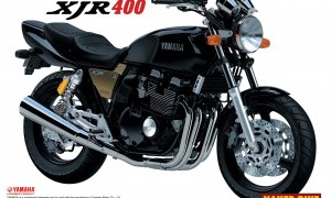 1:12 Scale Yamaha XJR400 Model Kit #363