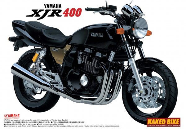 1:12 Scale Yamaha XJR400 Model Kit #363p