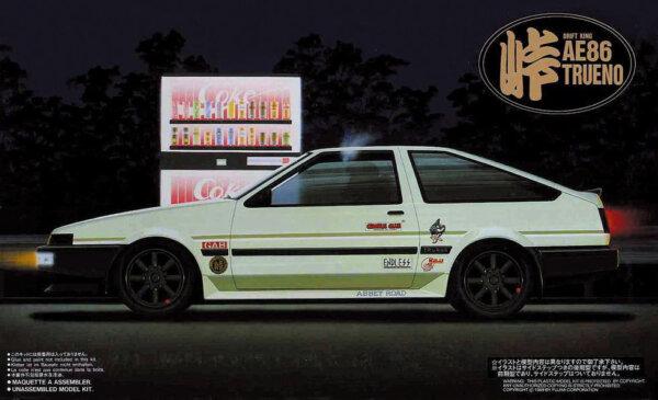 1:24 Scale Toyota AE86 Model Kit #753p