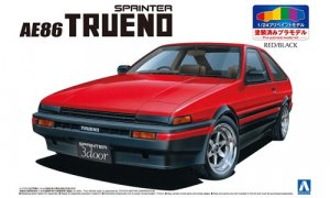 1:24 Scale Toyota AE86 TRUENO [pre painted] Model Kit #1037