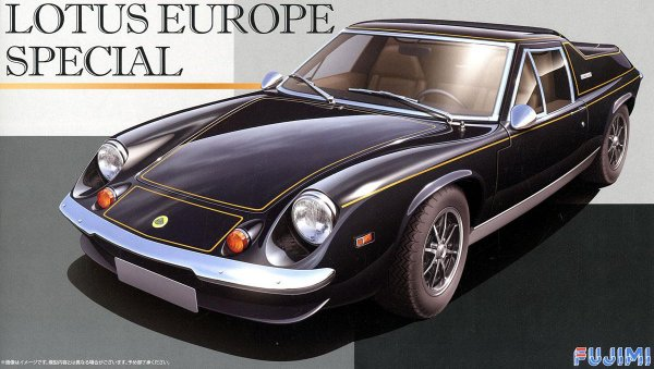1:24 Scale Fujimi Lotus Europa Special Model Kit #862p