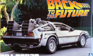 1:24 Scale Aoshima Back To The Future DeLorean Part 1 Model Kit #437P