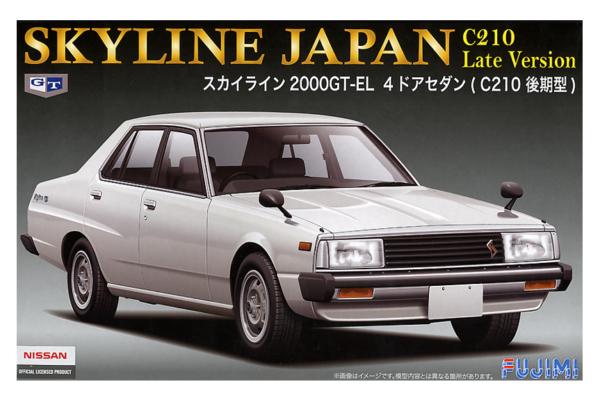 1:24 Scale Fujimi Nissan Skyline 2000 GT-E-L 4DR Sedan Model Kit #710p