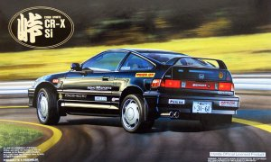 1:24 Scale Honda CRX SI Touge Model Kit #752p