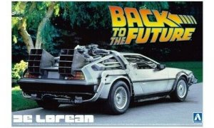 1:24 Scale Back To The Future DeLorean Part 1 Model Kit #437