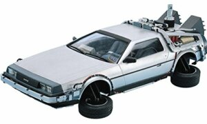 1:24 Scale Aoshima Back To The Future DeLorean Part 2 Model Kit #438p