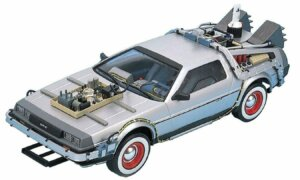 1:24 Scale Aoshima Back To The Future DeLorean Part 3 Model Kit #439p