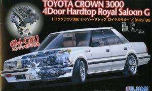1:24 Scale Toyota Crown 3000 Model Kit #692