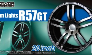 1:24 Scale Rays Gram Lights R57GT Wheel & Tyre Set #1052