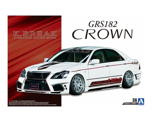 1:24 Scale Toyota Crown K Break Hyper Zero Custom Model Kit #160p