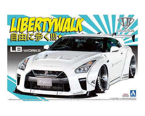 1:24 Scale LB Works Nissan GT-R R35 Type 1.5 Model Kit #328