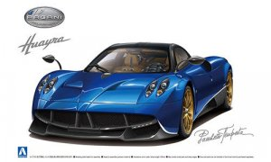 1:24 Scale Aoshima Pagani Huayra Pacchetto Tempesta Model Kit #314p