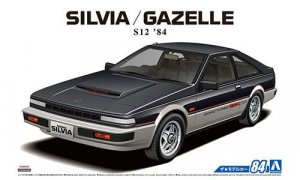 1:24 Scale Aoshima Nissan Silvia Gazelle S12 Model Kit #83p