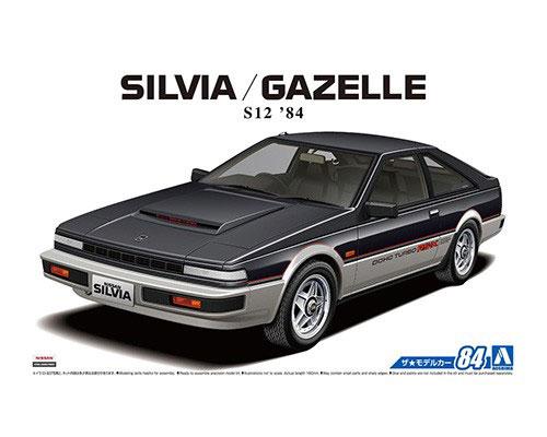 1:24 Scale Nissan Silvia Gazelle S12 Model Kit #83p