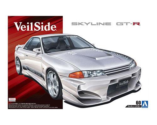 1:24 Scale Veilside Combat Nissan Skyline R32 BNR32 Model Kit #184