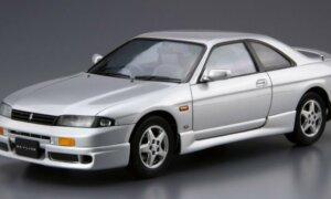 1:24 Scale Aoshima Nissan Skyline ECR33 GTS-T GTS RB25 Model Kit #93p