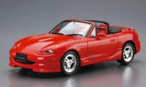 1:24 Scale Aoshima Mazda MX5 Eunos Roadster Model Kit #185p